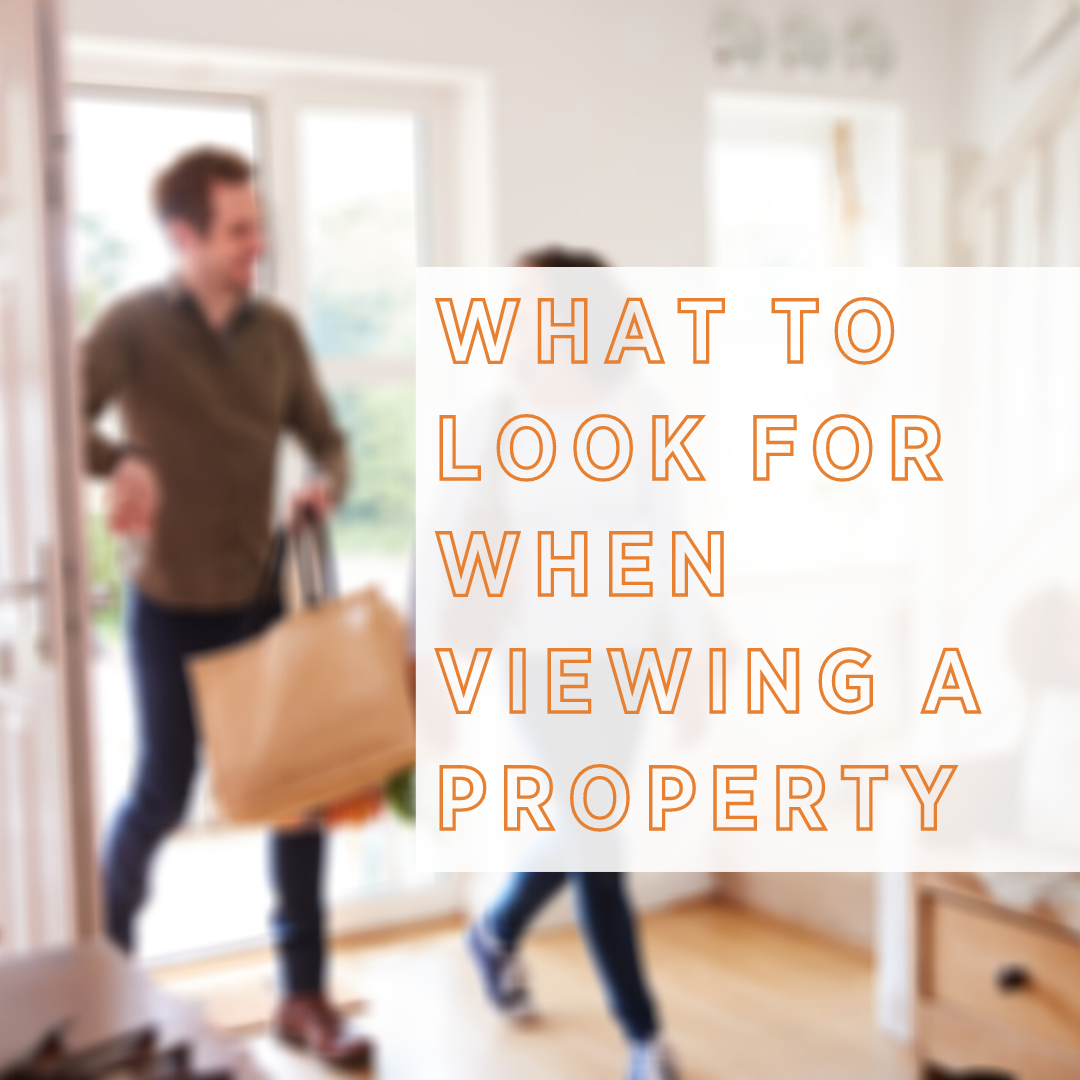 WHAT TO LOOK FOR WHEN VIEWING HOMES